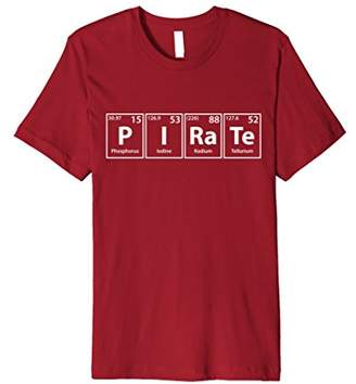 Pirate Periodic Table Elements Spelling T-Shirt