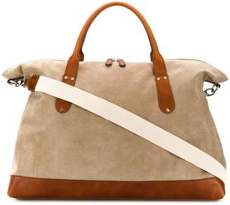 Eleventy colour block holdall