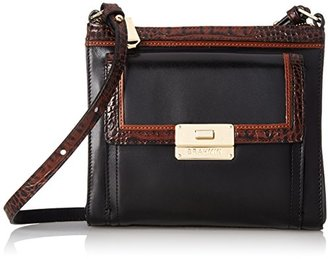 Brahmin Mimosa Convertible Cross Body, Black, One Size $205 thestylecure.com