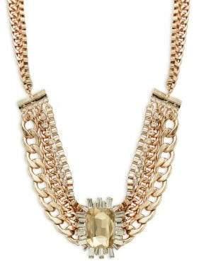 Design Lab Crystal Statement Necklace