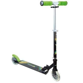Plum Neon Muuwmi Scooter with Lighting Wheels