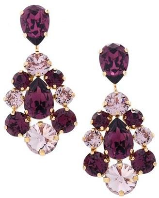 Women's L. Erickson 'Flora' Chandelier Earrings $198 thestylecure.com