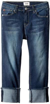 Hudson Skinny Roll Cuff Crop in Oxford Blue Girl's Jeans