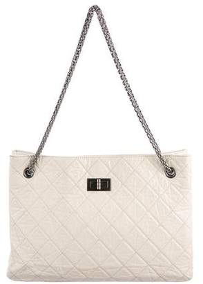 Chanel Aged Calfskin Reissue Tote