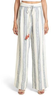Women's Tularosa Marley Linen Pants $138 thestylecure.com