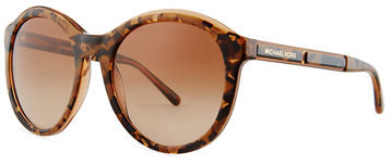 MICHAEL Michael KorsMichael Kors Round Acetate Sunglasses