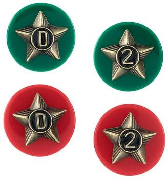 DSQUARED2 star earrings