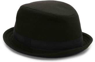 David & Young Solid Fedora Hat - Men's