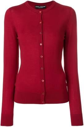 Dolce & Gabbana round neck button cardigan