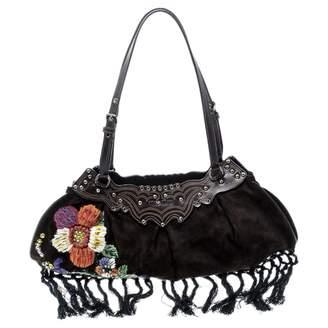 Miu Miu Brown Suede Handbags