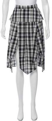 Walter Baker Gabrielle Plaid Skirt