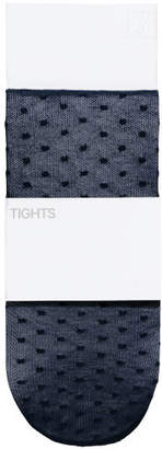 H&M Patterned Tights - Blue