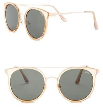 Quay Kandy Gram Brow Bar 55mm Sunglasses