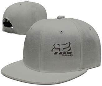 Fox Racing YesYouGO Logo Adjustable Snapback Caps Baseball Flat Hat