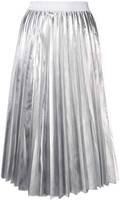 P.A.R.O.S.H. high-waist pleated skirt