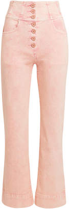 Ulla Johnson Ellis High Waisted Pink Jeans