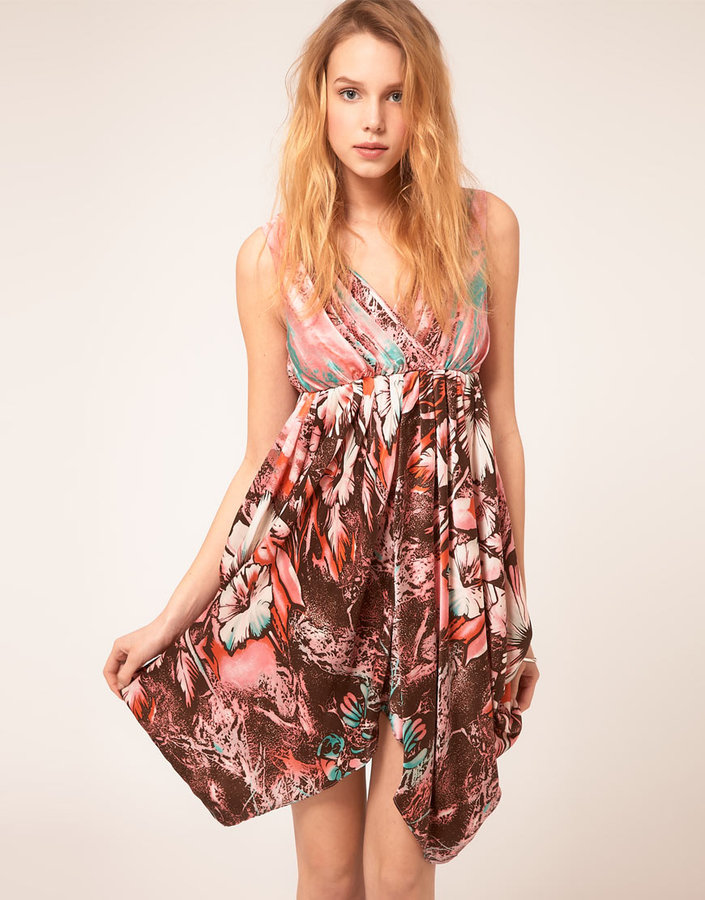 Traffic People Bold Floral Dress