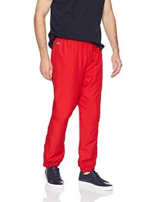 Lacoste Men's Sport Taffetta Pant with Side Zip Detail