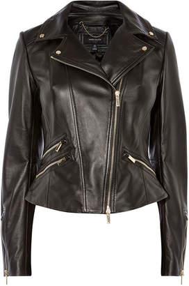 Karen Millen Leather Biker Jacket