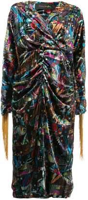 Romance Was Born Del patchwork dress