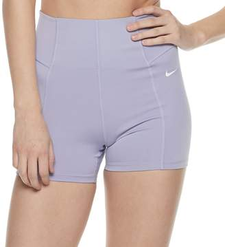 Nike Women's Dri-Fit Training High-Waisted Shorts
