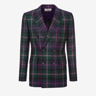 Tartan Double Breasted Blazer $2,195 thestylecure.com