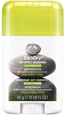The Body Shop DeoDryTM Dry-Effect Deodorant Cool & Zesty Stick