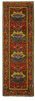 Morris Collection Oriental Rug, 2'8 x 8'3