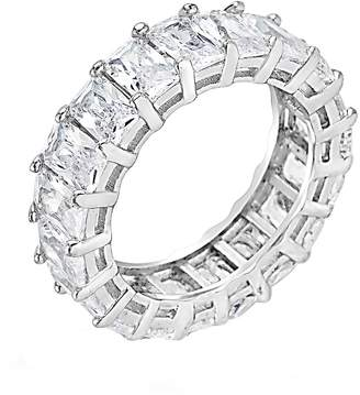Sterling Forever Women's Sterling Silver Eternity Band Ring