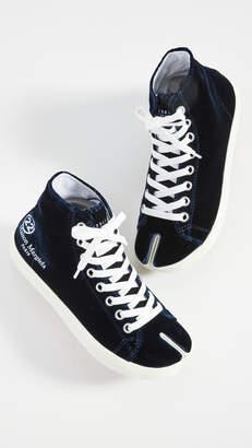 Maison Margiela Tabi Hightop Sneakers