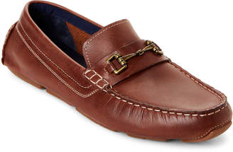 Cole Haan British Tan Kelson Bit Leather Loafers