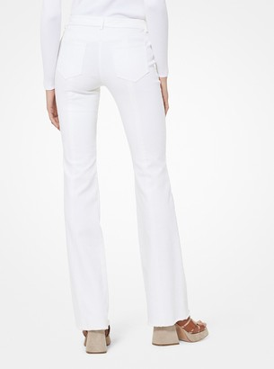 Michael Kors White Women s Cropped Jeans - ShopStyle 9c499da1d