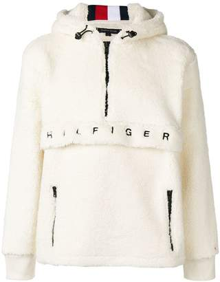 Tommy Hilfiger fleece hooded sweatshirt