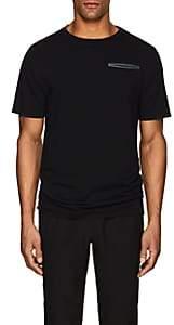 Barneys New York Men's Cotton-Blend Jersey T-Shirt - Black