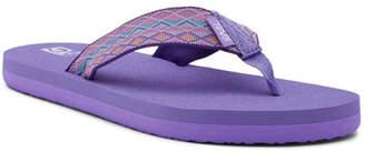 Teva Mush II Mirimar Purple Sandal (Big Kid)