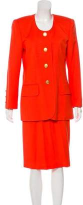 Albert Nipon Knee-Length Skirt Suit
