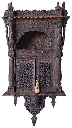 One Kings Lane Vintage Anglo-Indian Carved Cabinet - de-cor