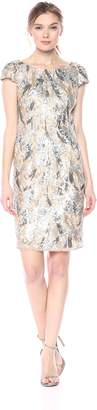 Nicole Miller Women's Sequined Cocktail Dress