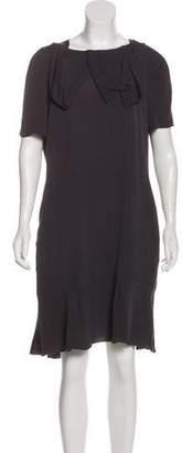 Marni Short Sleeve Knee-Length Dress