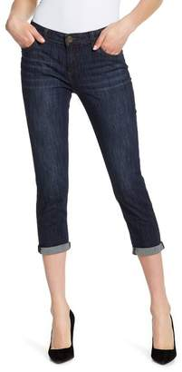 KUT from the Kloth Bardot Crop Skinny Boyfriend Jeans