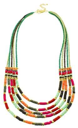 Panacea Multistrand Seed Bead Necklace