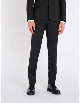 Sandro Slim-fit wool straight-leg trousers