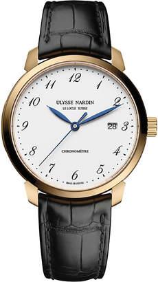 Ulysse Nardin 8152-111-2/5GF Classico rose-gold watch