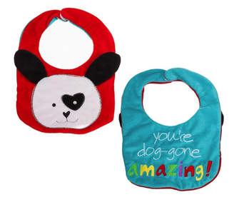 Evergreen Reversible Bib- Dog