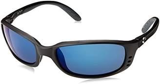 Costa del Mar Brine Sunglasses BR 11 OBMP /Blue Mirror 580Plastic