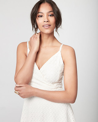 Le Château Lace Wrap-Like Dress