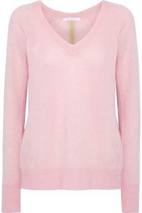 Duffy Split-Back Knitted Sweater