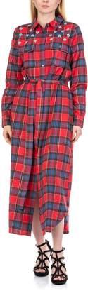 Essentiel Repoux Sequined Shirt Dress