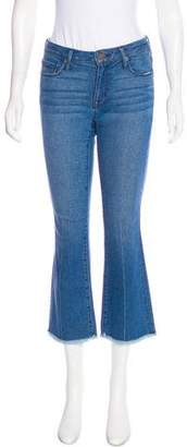 Erin Fetherston Mid-Rise Straight-Leg Jeans w/ Tags