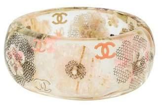 Chanel Resin Floral Bracelet
